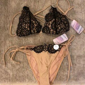 Forever 21 lace swim suit